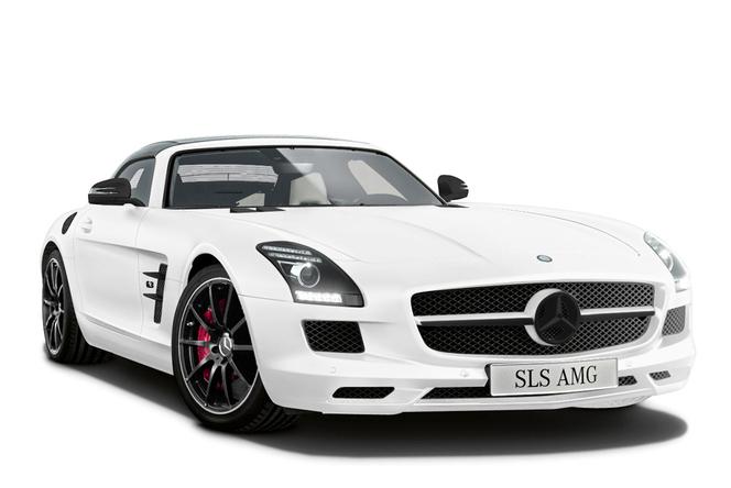 Mercedes SLS AMG Matt Special Edition : seulement pour le Japon