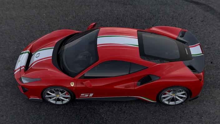 "Ferrari dévoile la 488 Pista ""Piloti Ferrari"""
