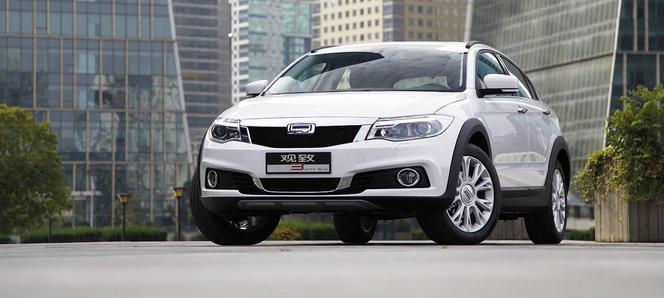 Qoros 3 City SUV : le voilà