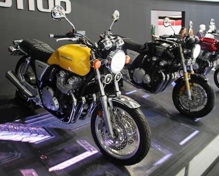 En direct d'Intermot 2016, Honda: CB1100RS et CB1100EX