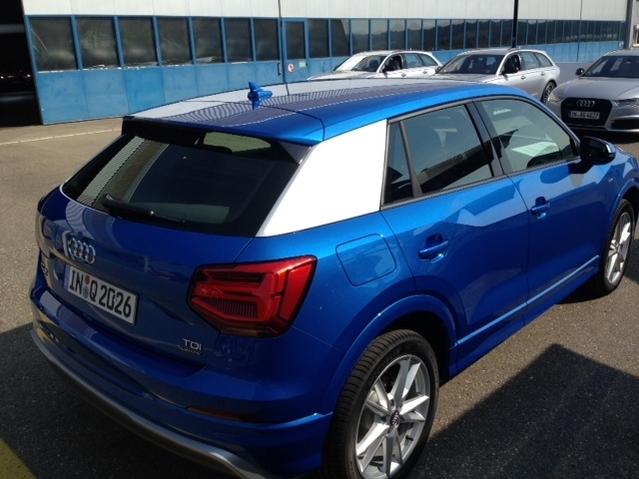 Première vidéo de l'Audi Q2 : découvrez les premières images en direct