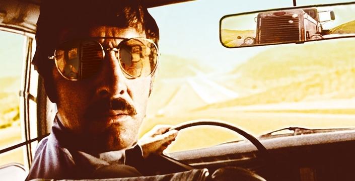 (image extraite de Duel - Steven Spielberg, 1971)