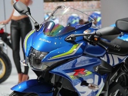 En direct d'Intermot 2016, Suzuki: GSX-R 125