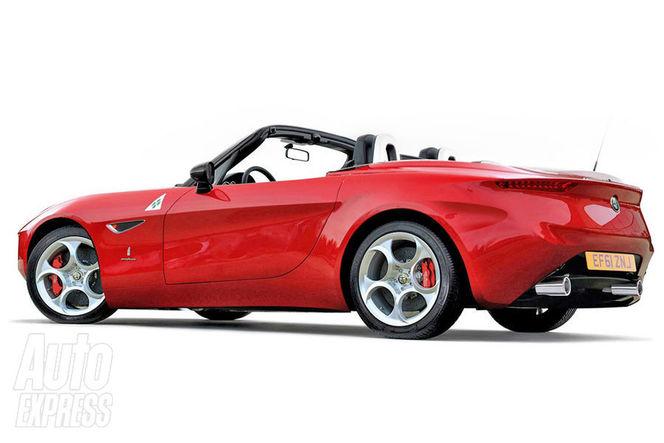 Future Alfa Romeo Spider: comme ça?