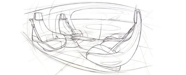 Mercedes dévoile l'habitacle de sa future voiture autonome