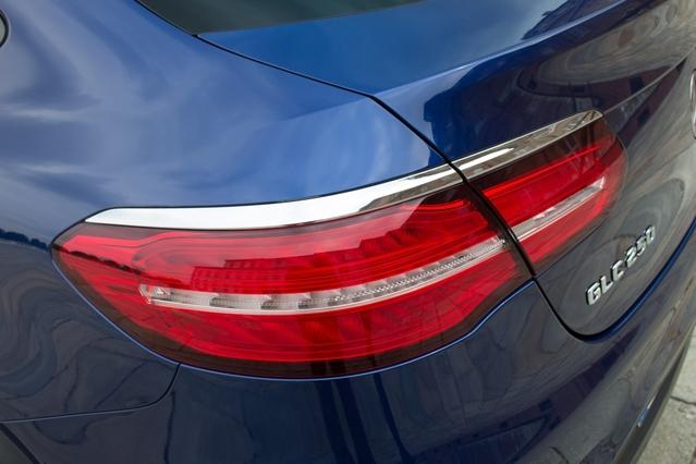 Mercedes GLC Coupé : en avant-première, les photos de l'essai