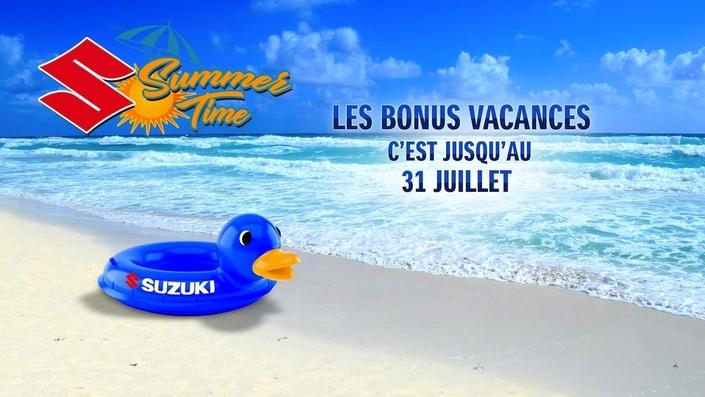 Des remises et un jeu concours chez Suzuki: vive l'été