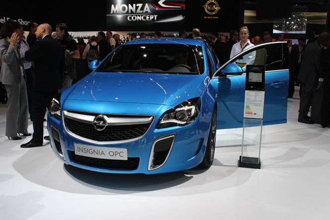 Vidéo en direct du salon de Francfort 2013 - Opel Insignia OPC : forte en gueule