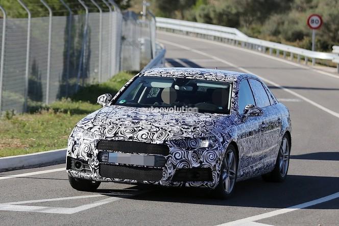 Surprise : la future Audi A4 se montre