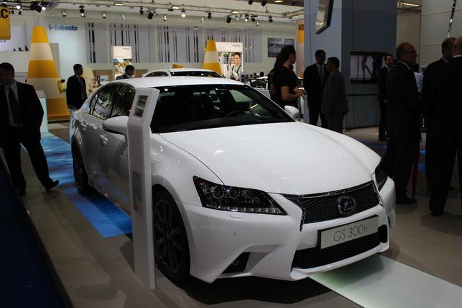 En direct du salon de Francfort 2013 - Lexus GS300h : élargissement de gamme