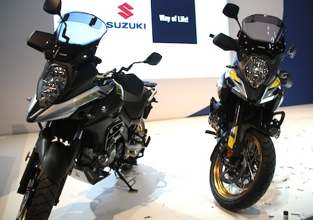 En direct d'Intermot 2016, Suzuki: V-Strom 1000