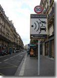 Le premier radar fixe dans une rue de Paris