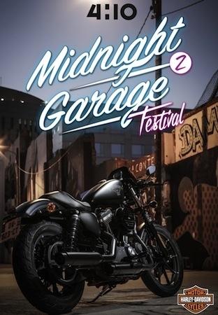 Harley-Davidson au Midnight Garage Festival second du nom