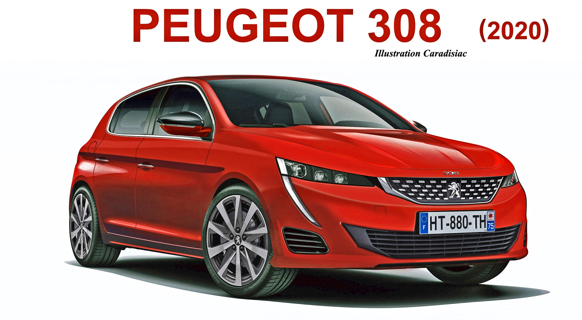 nouvelle peugeot 308 elle arrive en 2020. Black Bedroom Furniture Sets. Home Design Ideas
