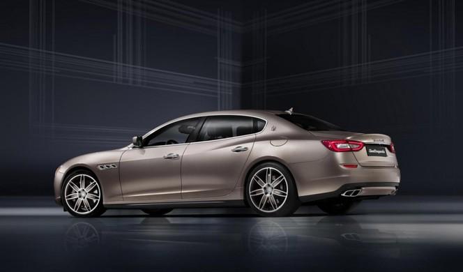 Toutes les nouveautés de Francfort 2013 : Maserati Quattroporte Ermenegildo Zegna Limited Edition