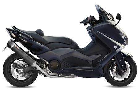 Mivv révèle le côté obscur du Yamaha T-Max 530 avec son Steel Black