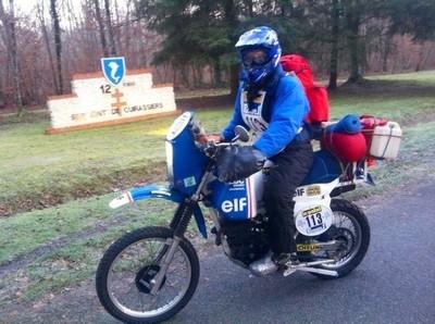 Rétrospectives des 1er Dakar: ça roule pour Patrick Lehue.