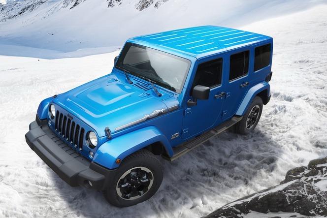 Toutes les nouveautés de Francfort 2013 : Jeep Wrangler Polar Edition