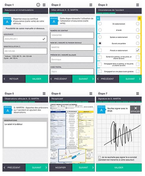Application : l'e-constat arrive le 1er décembre sur vos smartphones