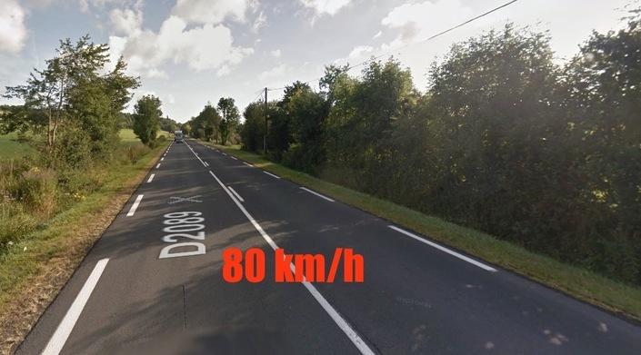 Quelles routes resteront limitées à 90km/h?