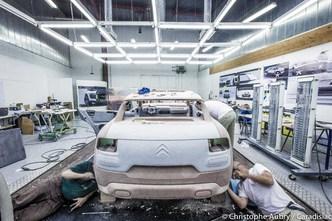 Citroën Cactus – Exclusivité Caradisiac : découvrez les coulisses de la fabrication du concept (2/3)