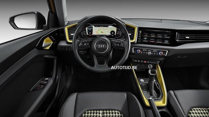 2018 - [Audi] A1 Sportback II - Page 10 S1-scoop-la-nouvelle-audi-a1-en-fuite-555335