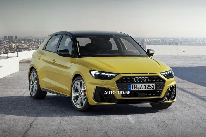 2018 - [Audi] A1 Sportback II - Page 10 S1-scoop-la-nouvelle-audi-a1-en-fuite-555341