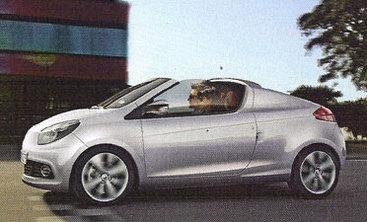 Le retour de la Renault Twingo CC