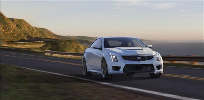 Los Angeles 2014 : Cadillac ATS-V officielles