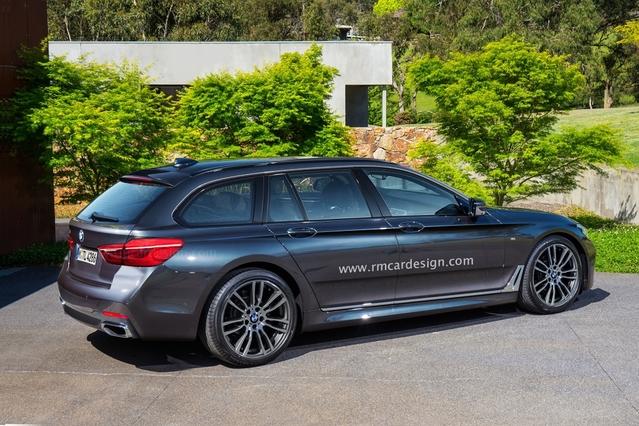 Futur break BMW Série 5 : comme ça ?