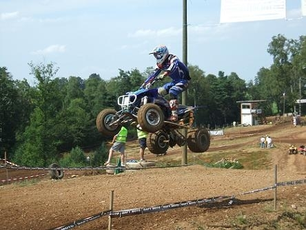 Quad-Cross : championnat de France élite à St Mamet (15)