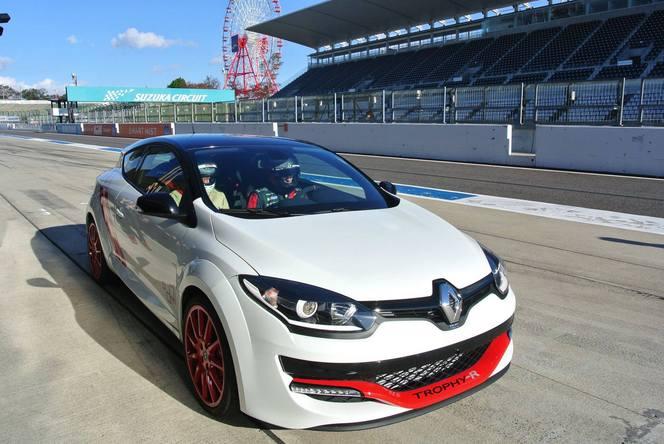 La Renault Mégane R.S Trophy-R explose le record de Suzuka