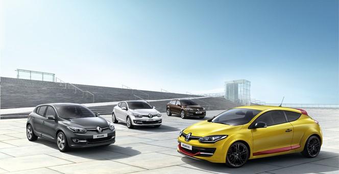 Toutes les nouveautés du salon de Francfort 2013 - La Renault Mégane joliment restylée...