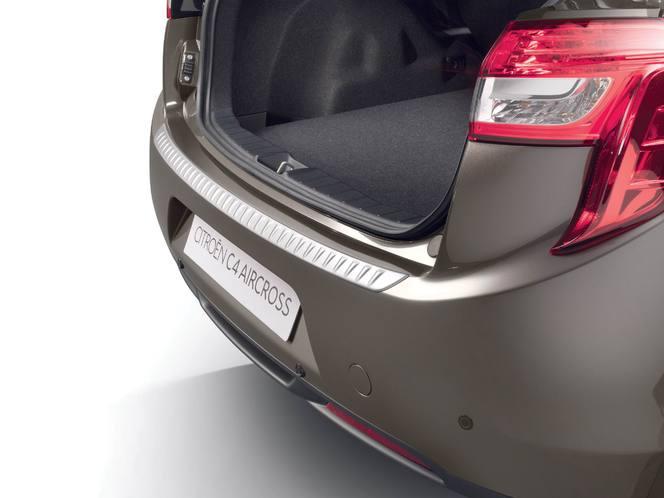 Citroën C4 Aircross: le plein d'accessoires
