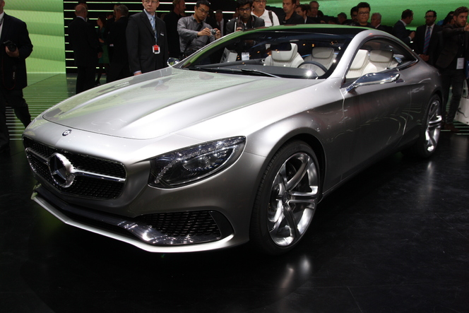 En direct du salon de Francfort 2013 - Mercedes Classe S Coupé Concept, très proche de la production