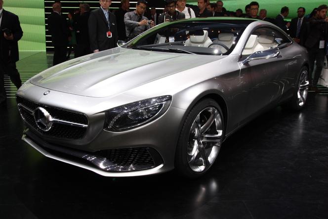 En direct du salon de Francfort 2013 - Mercedes Classe S Coupé Concept, très proche de la production