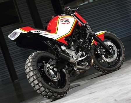 Suzuki Battle SV650: AD Koncept en est avec une version Replica Barry Sheene