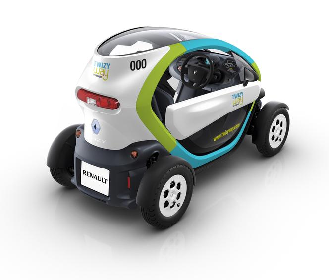 La Renault Twizy bientôt en partage