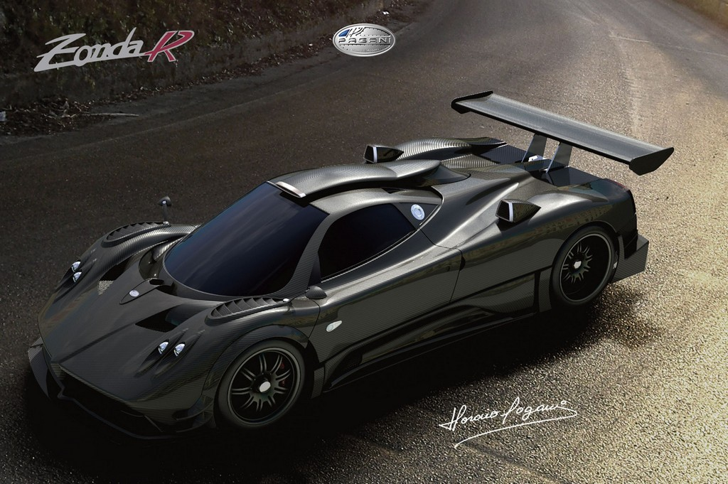 salon de francfort pagani zonda r la plus belle. Black Bedroom Furniture Sets. Home Design Ideas