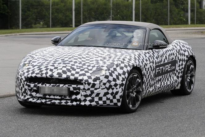 Surprise : la Jaguar F-Type appâte le chaland
