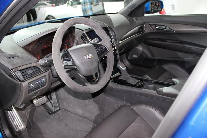 Cadillac ATS-V : les BMW M3/M4 en point de mire - En direct du salon de Los Angeles