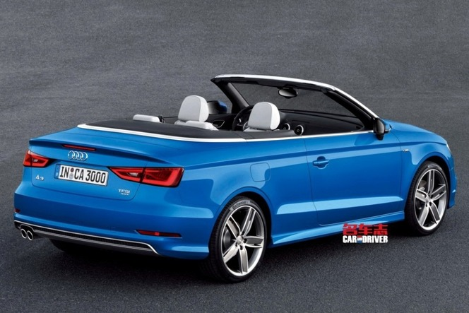 Voici la nouvelle Audi A3 cabriolet