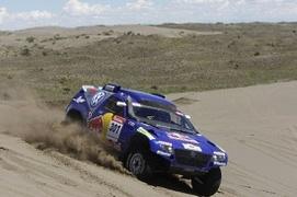 Dakar 2009 Etape 7 : Sainz reprend le pouvoir, Peterhansel abandonne
