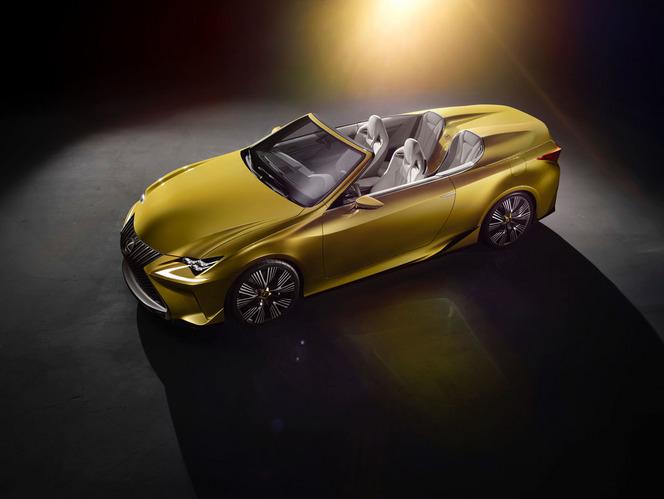 Salon de Los Angeles 2014 : Lexus officialise le concept LF-C2