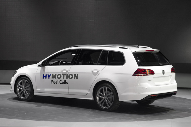 Salon de Los Angeles 2014 : la Volkswagen Golf HyMotion passe à l'hydrogène