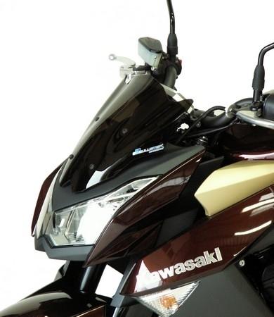 Deux bulles pour le Z1000 version 2010, signées Bullster.