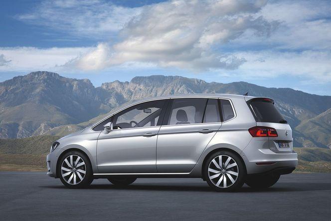 Toutes les nouveautés de Francfort 2013 : VW Golf Sportsvan, la Plus d'avant