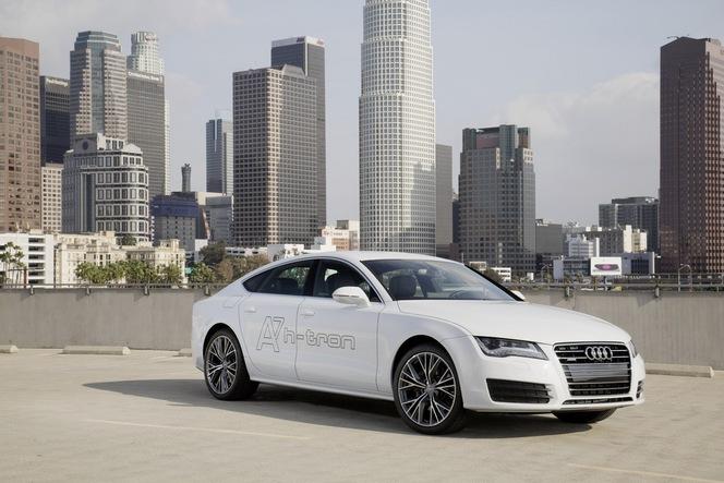 Los Angeles 2014 : Audi présente l'A7 Sportback h-tron quattro à pile à combustible