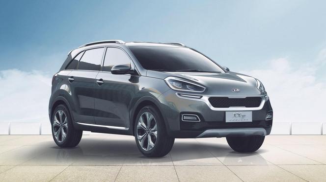 Guangzhou 2014 : Kia présente le concept KX3, un Hyundai ix25 chinois