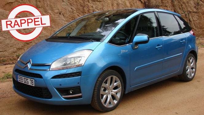 Le Citroën C4 Picasso au rappel : le frein à main électrique manque de jus